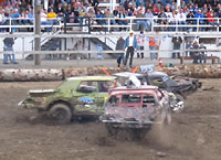 Deer Lodge Demolition Derby 2010